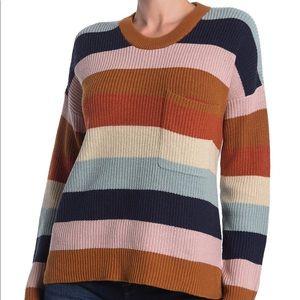 Madewell Thompson Stripe Sweater